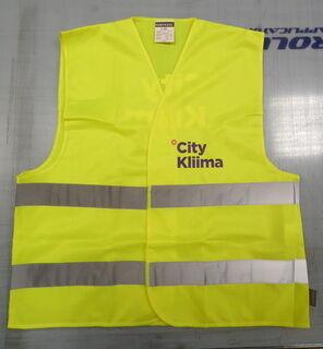 Logoga helkurvest - City Kliima