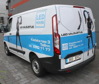 LED House autokleebised
