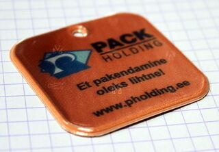 Pack Holding - oraanz helkur trükiga.