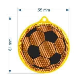 Plastik helkur jalgpall