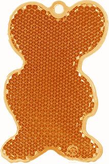 Helkur hiir 43x68mm oranž