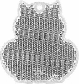 Heiastin kissa 57x59mm kirkas