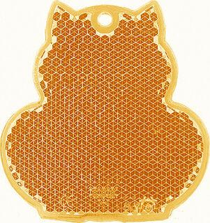 Helkur kass 57x59mm oranž